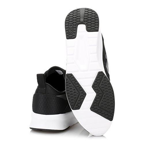 ASICS Hommes Noir/Carbon Lyte Jogger Basket Noir/Carbon