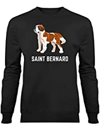 Saint Bernard Illustration Sweatshirt by Shirtcity