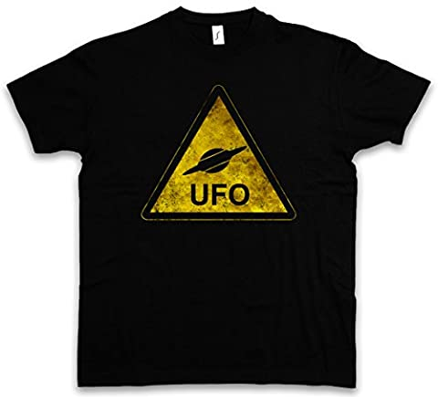 UFO SIGN T-SHIRT – OVNI extraterrestre Alien Invader Haunebu 12 Grey Area 51 TR3B Blue George Book Adamski Flying Saucer Dark Side Vril Andromeda Of The Moon Space Age Tailles S – 5XL