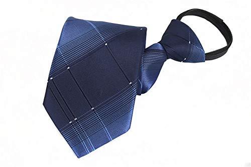 Xzwdiao Krawatten Fauler Reißverschluss Mit Reißverschluss 8Cm, Swll-04 (Bekleidung Fauler)