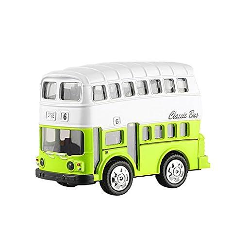 Bus Imperial - Mini Autobus à Impériale Classique Lumières &