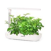 Home Farming: Smart Indoor Garden per coltivare in casa erbe aromatiche e verdurefresche prive di pesticidi tutto l'anno. Dati tecnici: • Illuminazione per la crescita: 18 watt su 110 LED-spettro di luce completo peruna perfetta cura delle piante• co...