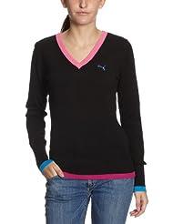 Puma Pull de golf en tricot Solid pour femme