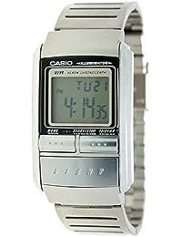 CASIO LA-200WE-1Q - Reloj de señora digital - Crono, Alarma y Luz - Acero inoxidable