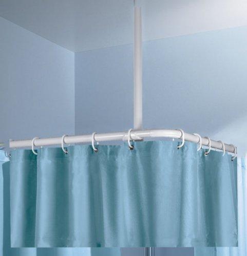 Kleine Wolke Stange Deckenhalter Farbe Chromfarbig 60 cm Länge Ø 25mm