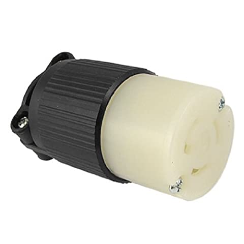 DealMux AC 125V 15A Gerade Twist Lock Buchse NEMA L5-15R (Nema Twist)