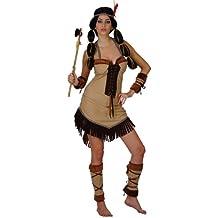 d9ea11659c8d5 Pocahontas Indian costume da principessa per le donne in taglia S  occidentale vestito