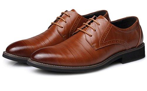 Xdgg Chaussures De Mariée En Cuir Casual Chaussures En Cuir Véritable Hommes Chaussures De Mariage New England En Pointe Bullock Jaune