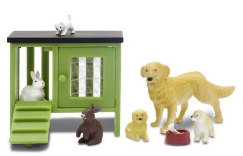 Lundby 60.9020.00 - Stockholm: Set animali per casa delle bambole