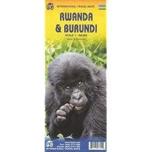 Rwanda / Burundi 1 : 300 000 (International Travel Maps)