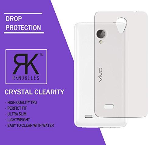 VIVO Y21 Ultra Thin 0.3mm Clear Transparent Flexible Soft TPU Slim Back Case Cover (For VIVO Y21)