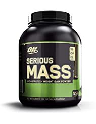 Optimum Nutrition Serious Mass, Chocolate - 2721 g