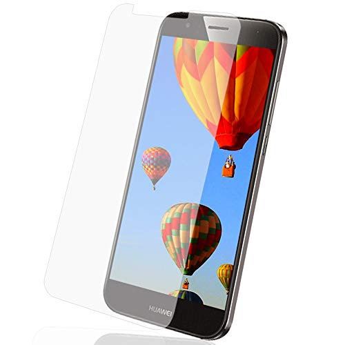 MYCASE 1x Bildschirmschutz Folie für Huawei G8 / G7 Plus   Echt Glas   0,3 mm Dünn
