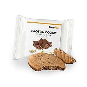 Protein Cookies nur 139 kcal Chocolate Chip wie Proteinriegel mit Whey Eiweiß...