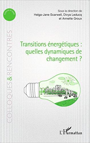 Transitions énergétiques : quelles dynamiques de changement ?
