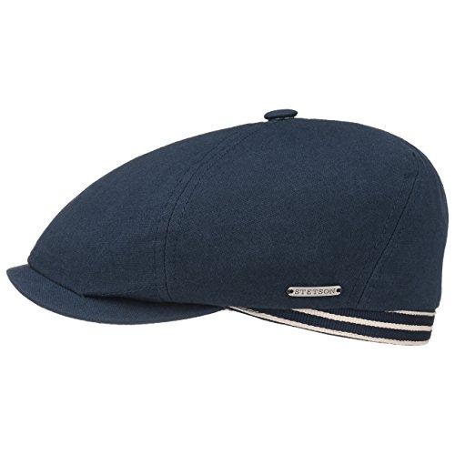 coppola-6-panel-canvas-stetson-cotton-cap-cappello-piatto-s-54-55-blu-scuro