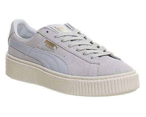 PUMA Donna Blu/Bianco Scamosciato Platform Sneaker Blu