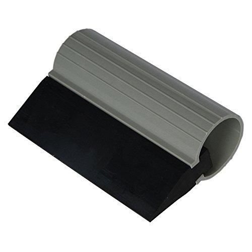 Ehdis 10 x 7cm Schlauch Gummischieber mit Turbo Griff Window Film Tint Werkzeuge Applikator für Fahrzeug Wrapping Fensterglas Tönungs - Schwarz (Schlauch-griff)