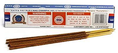 Satya Nag Champa Incense Sticks Agarbatti 15g, 3 Packs : everything £5 (or less!)