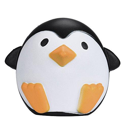 10CM Pinguino Antistress Squishy Slow Rising Riduttore di stress Giocattolo di pane animale sveglio carino