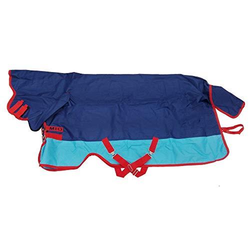 Horseware Strauchkwrd50 Amigo Mio Lite Alle In Einem Turnout Teppich 155cm Dark Blue/Aqua/Red -
