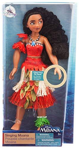 Disney Muñeca canora 29 cm vaiana Oceania Original Princesa