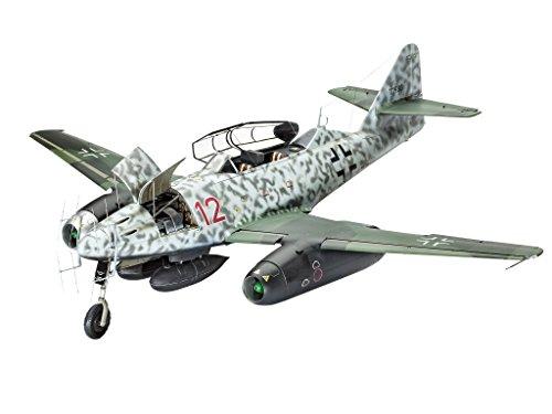 Revell-Modellbausatz-Flugzeug-132-Messerschmitt-Me262-B-1U-1-Nightfighter-im-Mastab-132-Level-5-originalgetreue-Nachbildung-mit-vielen-Details-04995