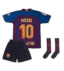 COOLBOY Fu/ßball-T-Shirt 2019-2020#10 Messi Fu/ßball Jersey /& Shorts /& Socken Kinder und Jugend Gr/ö/ße Geschenke f/ür Kinder Erw Jungen Baby Fu/ßball T-Shirt Bedrucken