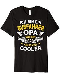 Ich Bin Ein Busfahrer Opa - Geschenk Vatertag T-Shirt