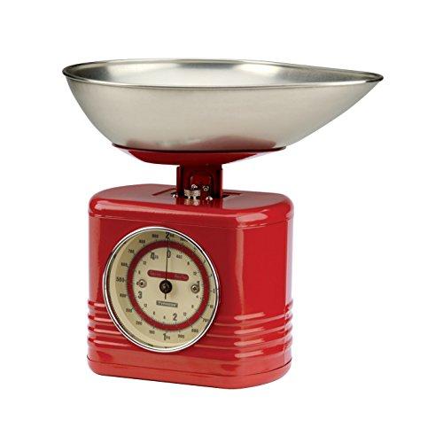 Typhoon Vintage Balance de cuisine Rouge