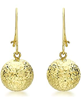Carissima Gold Damen-Ohrringe 9 Karat (375) Gelbgold