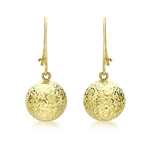 Carissima Gold Damen - Ohrringe 9 k (375) Rundschliff Diamant 1.56.8419