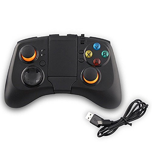 Kontrolle von Spiel Bluetooth Controller Upgrade von Version der Stoga Bluetooth Wireless Spiele Controller Gamepad Joystick für PC (Windows XP/7/8/8.1) und Android und PS3 – Schwarz Angry Bird-auto-spiel