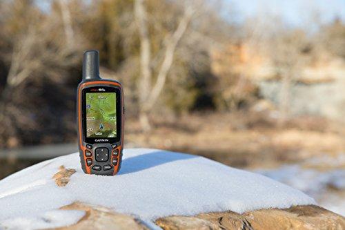 """Garmin GPSMAP 64S GPS Portatile Impermeabile, Schermo Colori 2,6"""", Altimetro Barometrico, Bussola Elettronica, Arancione/Nero"""