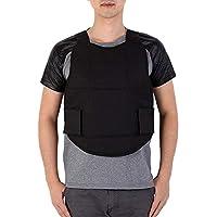 Storagc - Chaleco de Seguridad para Camuflaje al Aire Libre, para Juegos de Azar, con Cintura y Hombro, Ajustable al Aire Libre, Chaleco Protector táctico de protección