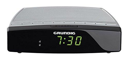 Grundig Sonoclock 600 Uhrenradio silber/schwarz