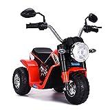 GOPLUS Moto Electrique pour Enfants 6V 4,5Ah, Moto à Batteries 3 Roues, Véhicule Electrique pour...
