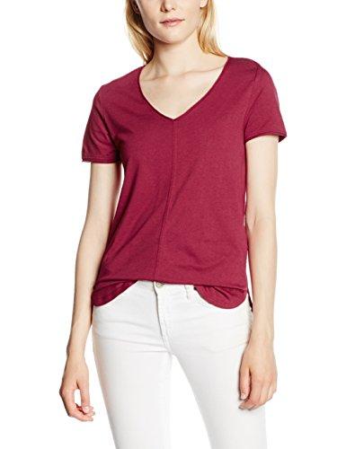 s.Oliver Damen T-Shirt Violett (summer berry 4622)