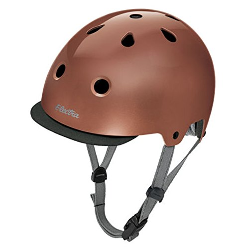 Electra Bike und Skate Helm 'Rose Gold' Solid Color Helmet, Kopfumfang:59-61 cm