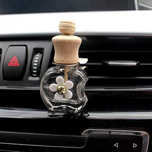 Bobopai Perfume Diffuser Empty Bottle, Automobile Air Conditioner Perfume Clip Car Decor (E) -
