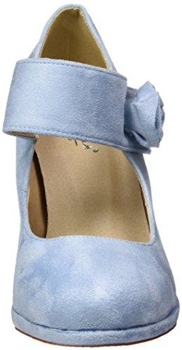 Andrea Conti - 0592580, Scarpe col tacco Donna Blu (Hellblau)