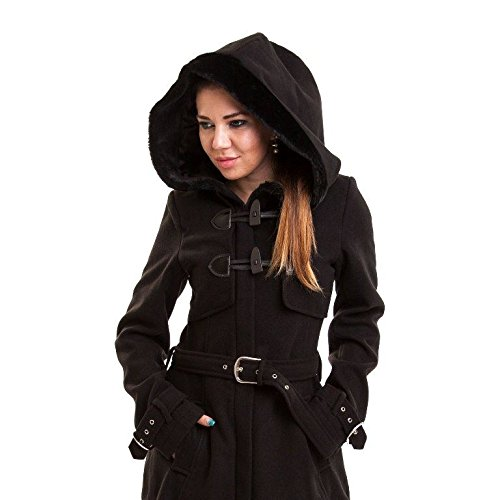 Vixxsin -  Cappotto  - Donna Black XL