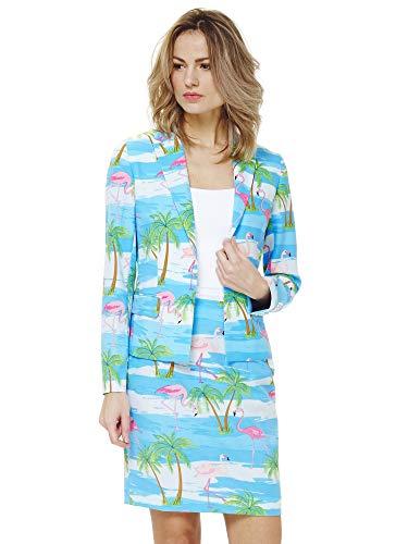 OppoSuits Damen Anzüge mit bunten Prints -