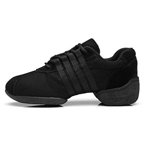 YKXLM Hombres&Mujeres Danza-zapatillas deporte Zapatos