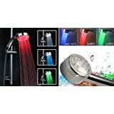 Grifo de ducha con Led luminoso de 3 colores