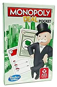 Rewe 2018 Kartenspiel Monopoly Pocket Version