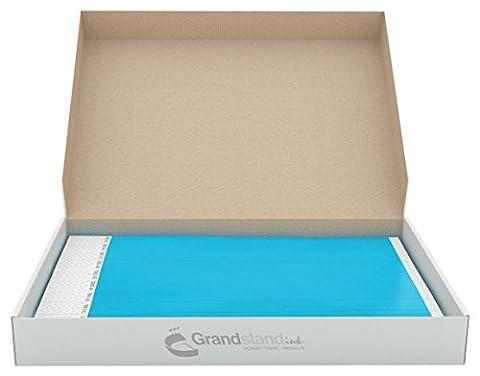 grandstandstore. com Tyvek feuilles perforées avec bracelets pour événements, 19cm, boite de 500pièces, couleur Bleu fosforito