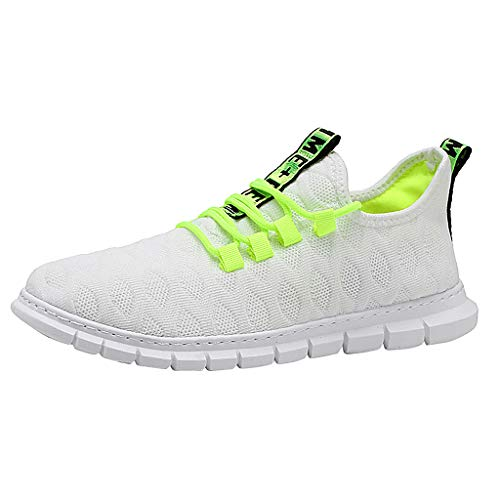 KERULA Sneakers, Leisure Breathable Hollow Out Mesh Surface Sports Athletic Sneakers Shoes All Star Comfy Mesh-Comfortable Work Low Top Walking Running füR Damen & Herren (Tray Paint 12)