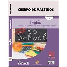 Cuerpo de Maestros. Inglés. Temario Vol. II. Edición para Canarias (Colección 736)