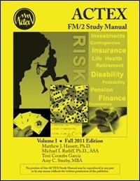 Fm/2 Study Manual Volume 1